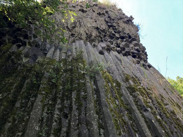 Kamenný vodopád a kamenné more Šomoška