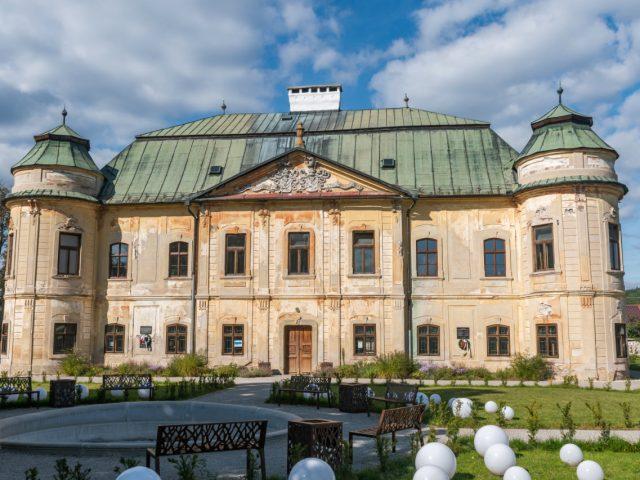 Soosovsko-Géczyovský barokový kaštieľ, Hronsek