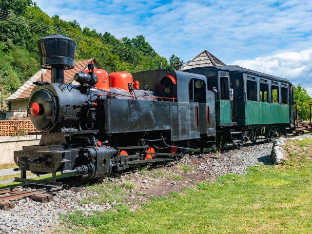 Historický vlak vo Vígľaši