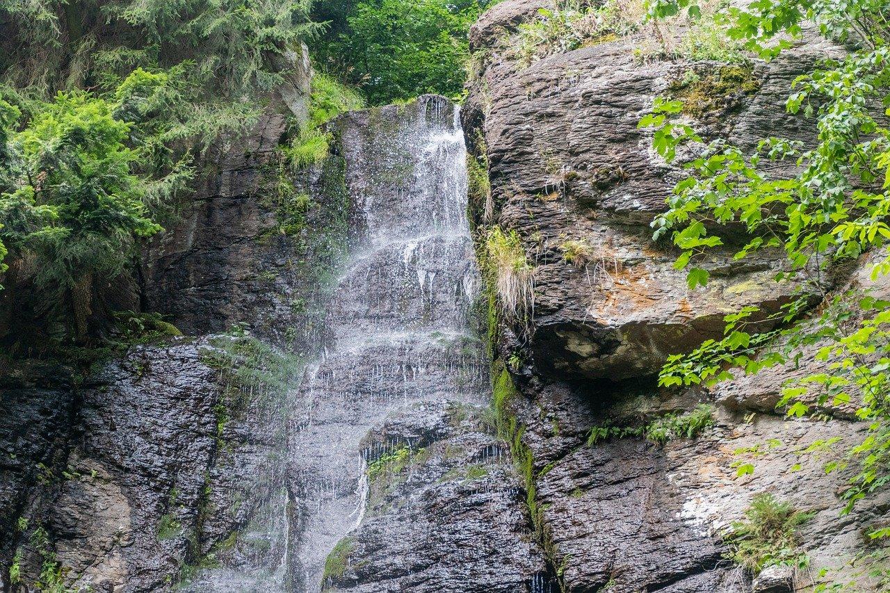Vodopád Bystré, Poľana